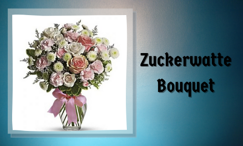 Zuckerwatte Bouquet