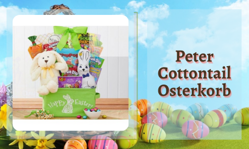 Peter Cottontail Osterkorb