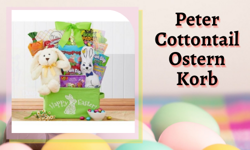 Peter Cottontail Ostern Korb